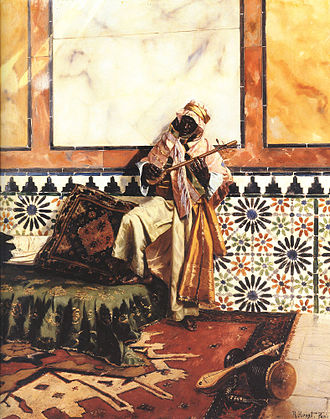 Gnawa - Image: Gnaoua in a North African Interior