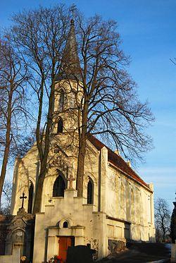 Gniezno ul Świętokszska kościół fil. p.w. Św. Krzyża, 1834-1835
