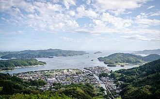 Minamiise, Mie - Image: Gokasho Ura