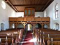 Golchen Kirche Orgelempore.JPG