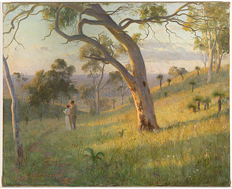 Florence Fuller - A Golden Hour, 1905