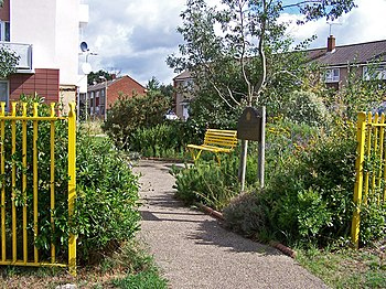 Golden Jubilee Garden, Bybrook Road - geograph...