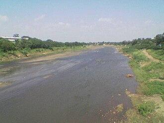 Gomai River - Image: Gomai River Shahada