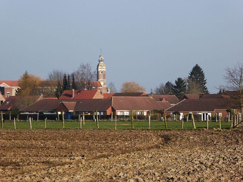 Eglise saint Martin Gondecourt Nord.- Hauts-de-France
