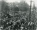 Gore Park crowds for the 1901 Royal Visit. (14196145037).jpg