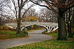 Gothic Bridge of Central Park December 2010.jpg