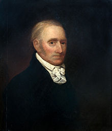 c. 1800 portrait of Gough attributed to Gilbert Stuart