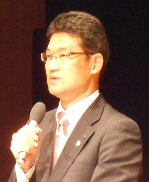 Shunji Kōno - Shunji Kōno speaking in November 2012