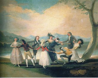 1791 in Spain - Goya, Francisco - Das Blindekuhspiel - 1791