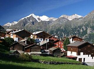 Grächen Municipality in Switzerland in Valais