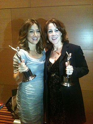 Janet Tamaro - Gracie Awards Sasha Alexander and Janet Tamaro