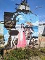 Grafiti en casa abandonada en Acuitlapilco, Tlaxcala.jpg