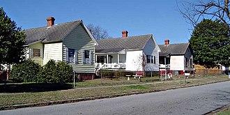 Graniteville, South Carolina - Mill houses in Graniteville