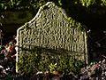 Gravestone, St Michaels Church, Ilderton (geograph 3237324).jpg