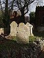Gravestones, Paignton - geograph.org.uk - 618075.jpg