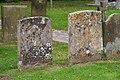 Gravestones, St. Leonard's Chapel - geograph.org.uk - 550963.jpg