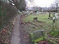 Graveyard at St Peters Church Slinfold - geograph.org.uk - 1714665.jpg