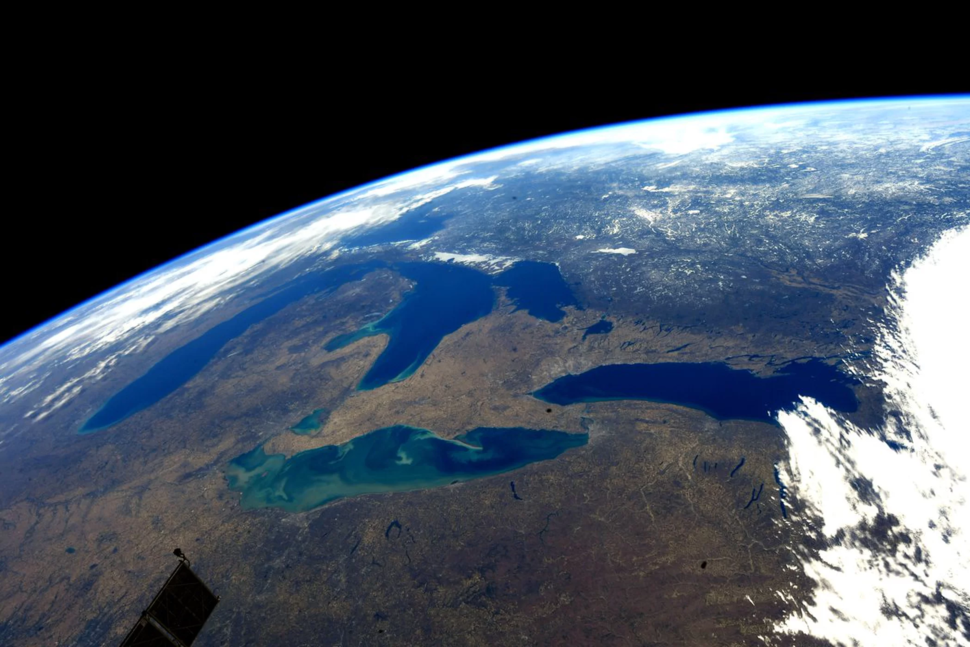 Great Lakes from space during early spring.webp