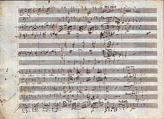 Great Mass in C minor, K. 427 - Image: Great Mass in C minor (Mozart) p 2