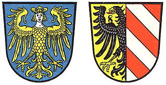 Langwasser - Image: Greater and Lesser Coats of arms of Nürnberg
