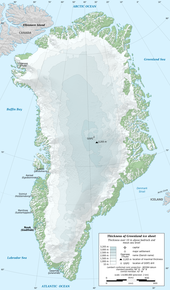 Greenland Wikipedia - Us canda greenland map with counties