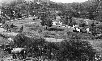 Griffith Park Zoo - Zoo circa 1940