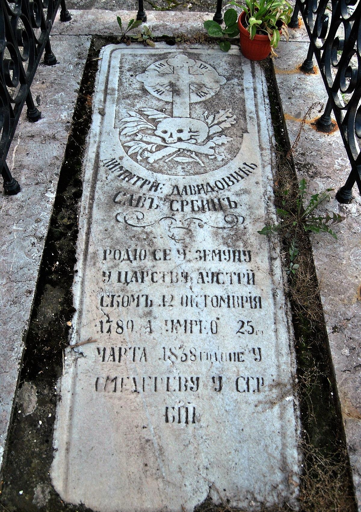 Grob Dimitrija Davidoviæa.jpg