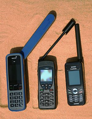 Maritime mobile-satellite service - Image: Gruppenbild 05