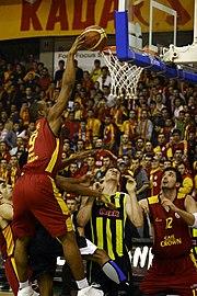 Galatasaray Basketbol Takımı Maçından Bir Görüntü
