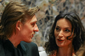 The Duchess of Langeais - Guillaume Depardieu and Jeanne Balibar during the film's opening night at the Berlinale 2007.