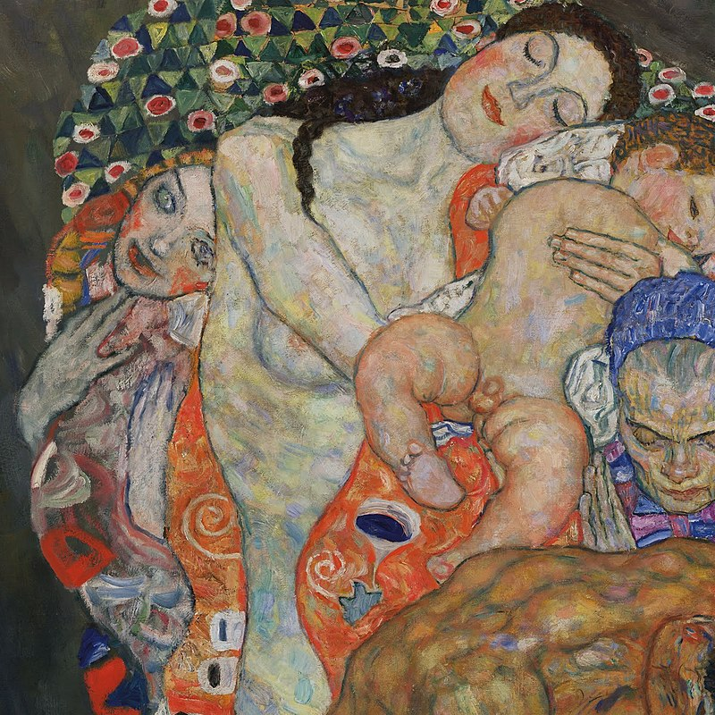 Gustav Klimt - Death and Life - detail Google Art Project.jpg