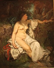 Gustave Courbet Bather Sleeping by a Brook.JPG