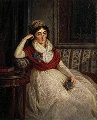 Portrait of Princess Ye. Golenishcheva-Kutuzova