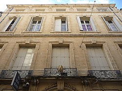 Hôtel Périer (Montpeller) - Façana principal.jpg