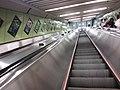 HKU 香港大學 syp MTR tower view 薄扶林道 Pok fu lam MTR Station escalators April 2019 SSG 08.jpg