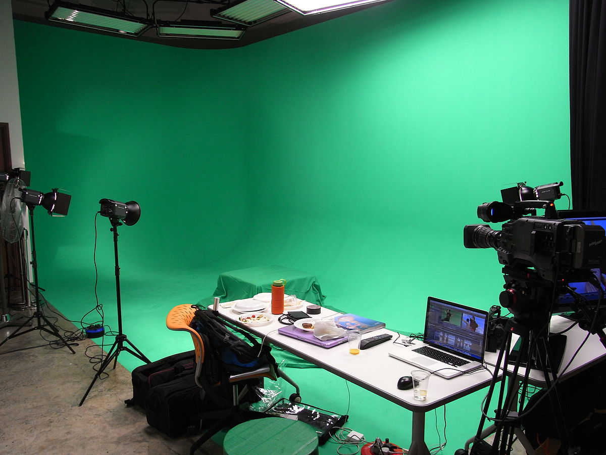 HK 292 Tai Po Road SCAD Hong Kong former No2 Court NKM green screen video workshop room April-2012.JPG