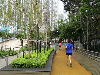 Jogging - Jogging track in Hong Kong