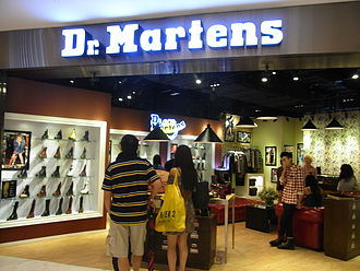 Dr. Martens - A Dr. Martens retail store in Hong Kong (2012)