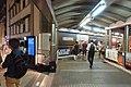 HK Central night 舊中區警署 Ex-Central Police Station 奧卑利街 Old Bailey Street footbridge 荷李活道 Hollywood Road June 2018 IX2 大館 Tai Kwun 05.jpg