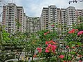 HK Hung Hom South Road 紅磡南道 Rest Garden view Hung Hom Bay Centre Mar-2013.JPG