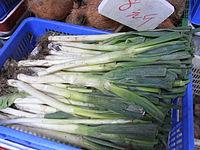 HK SYP Best of Best Vegetable Peking Welsh onion Allium Aug-2012.JPG