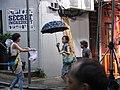 HK Sheung Wan Tai Ping Shan Street Man-made Rain Umbrella June-2012.JPG
