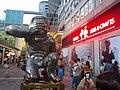 HK TST Harbour City 海港城 evening 岳敏君 當代藝術 展覽 Yue Min Jun Exhibition Oct-2012 Arts & Crafts E66.jpg