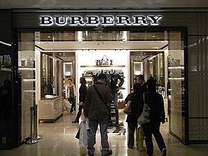 Burberry - A Burberry store in Tsim Sha Tsui, Hong Kong