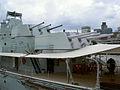 HMS Belfast Türme achtern.jpg