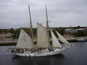 Tall Ships' Races - Image: HMS Falken 01