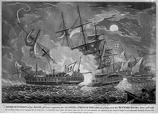 Action of 30 June 1798 minor naval engagement fought along the Biscay coast of France