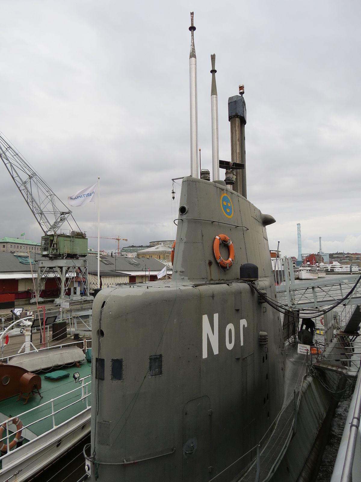 Draken-class submarine...N Class