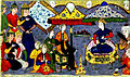 Habib Allah ibn 'Ali ibn Husam - Alexander the Great in Nushabah-s Pavilion in Barda' - Walters W608269A.jpg