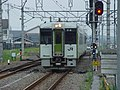 Hachiko Line KiHa 110 series KiHa 112-208 Komagawa Station 20030826.jpg